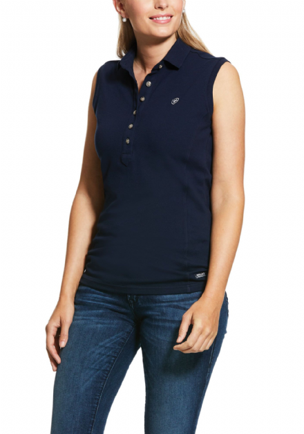 Ariat Prix 2 Sleeveless Ladies Polo Shirt